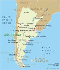 physical map of argentina argentina map and argentina satellite images