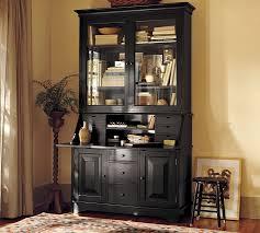 black desk with hutch graham desk hutch pottery barn