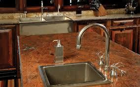 Bronze Kitchen Sink Scandanavian Kitchen Kitchen Sink Faucets Open Cabinets Ideas