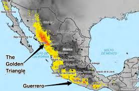 Mexico Drug Cartel Map by Us Mexico Heroin Eradication Efforts Problems Business Insider