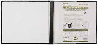 scrapbook inserts pioneer mb811 60667 leatherette post bound album 8 5
