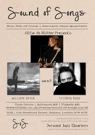 sound of songs with stephen hodd william poyer gitta de ridder