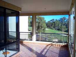 Clear Vinyl Roll Up Blinds Outdoor by Aussie Alfresco Cafe Blinds Australia Wide Franchises
