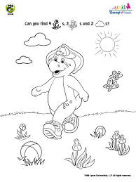 Barney And Friends Bj Soccer Coloring Page Pbs Kids Sprout Coloring Pages