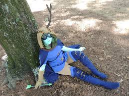 self cosplay wore my huntress wizard cosplay for the last time