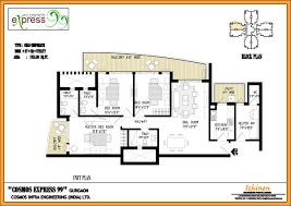floor plan express floor plans of cosmos express 99 sector 99 gurgaon cosmos