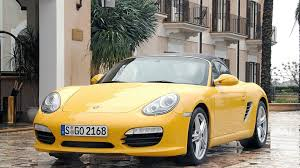 gold porsche boxster porsche considering turbocharged three cylinder engine for boxster