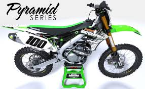 personalized motocross jerseys kawasaki semi custom dirt bike graphics