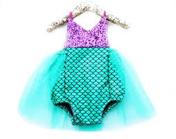 Mermaid Halloween Costume Toddler 34 Baby Glam Images Romper Baby