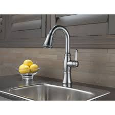 delta faucet 9997 ar dst cassidy arctic stainless pullout spray