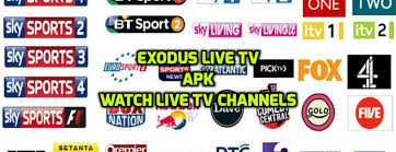 apk live exodus live apk app free live tv on all android devices tutorial