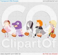 halloween children background clipart of children wearing halloween costumes and walking in line