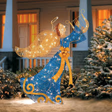 Lighted Outdoor Christmas Decorations details about holiday christmas lighted holy angel indoor outdoor