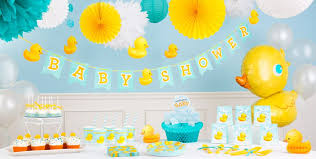duck baby shower decorations bath baby shower party supplies party city