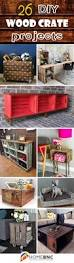 wooden crate wall shelves 26 brilliant diy wood crate projects repurposing with function