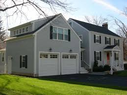 colonial garage plans garrison style home with garage addition turned roof with side