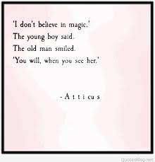 don t believe in magic quote
