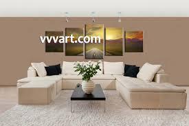 multi canvas art handpainted oil painting palette knife paintings
