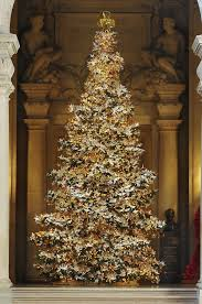 brown christmas tree large wish filled origami cranes adorn christmas tree