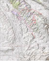 Map Of Northern Utah by Klondike Bluffs Trail In Moab Utah