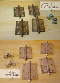 how to clean metal cabinet handles just look at the difference door hinges cleaning