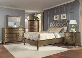 Homelegance Bedroom Furniture Homelegance Chambord Sleigh Bed With Button Tufted Headboard