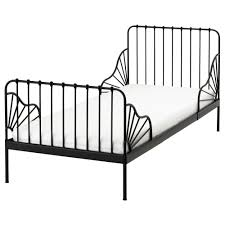 Ikea Metal Bed Frame Minnen Ext Bed Frame With Slatted Bed Base Ikea