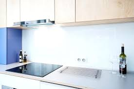 credence cuisine blanc laqu credence en verre transparent cuisine credence en verre transparent