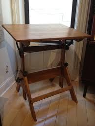 Antique Oak Drafting Table Vintage Oak Drafting Table Sterlingplace Com Antique Furniture