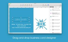 bp business card designer for mac free download and software