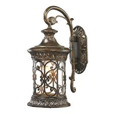 bronze outdoor wall sconce residential led landscape lighting