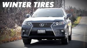 lexus is winter tires the importance of winter tires youtube