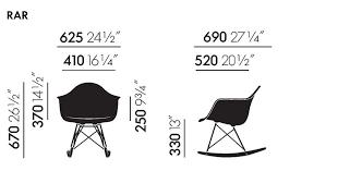 Eames Style Rar Molded Black Eames Plastic Armchair Rar