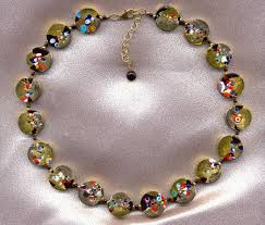 murano glass bangle bracelet images Murano glass venetian glass bead necklace jpg