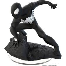 disney infinity 3 0 marvel black suit spider man figure universal