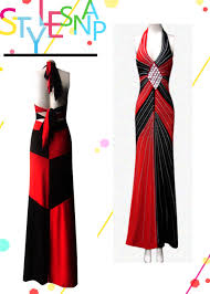 club sytle harley quinn or gown ployster