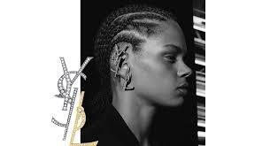 ear cuff images logomania to wear the ysl ear cuff vogue