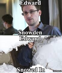 Snowden Meme - edward snowden edward snowed in meme the potato