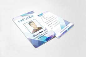 id card graphic design office id card on behance