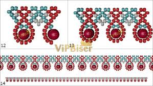 beaded necklace patterns images Simple beaded necklace 3d tutorial jpg