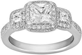 Wedding Rings Princess Cut by 13 Princess Cut Engagement Rings Worth Pinning