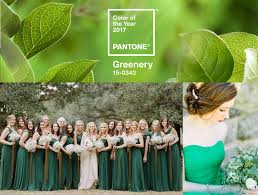 Color Of Year 2017 by Go Green With Pantone U0027s 2017 Color Of The Year Bella Bridesmaids
