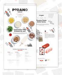 porano pasta restaurant branding and web design
