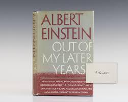 einstein first edition abebooks