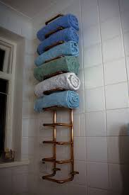 copper pipe towel rail with pictures