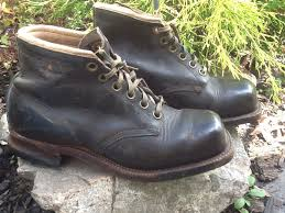 s boots lace up vintage original chippewa boots leather lace up square