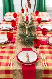 Christmas Table Setting Ideas by Christmas Table Ideas U0026 Nutcracker Tablescape