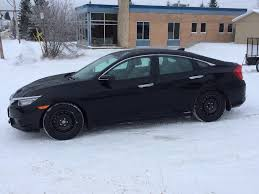 2016 civic in the snow 2016 honda civic forum 10th gen