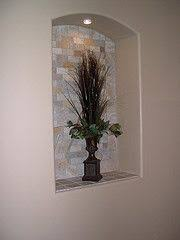 Niche Decorating Ideas Decorating In A Niche Can Be A Difficult Task Try Not To Make It