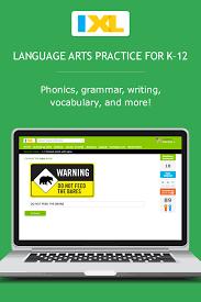 ixl seventh grade language arts practice